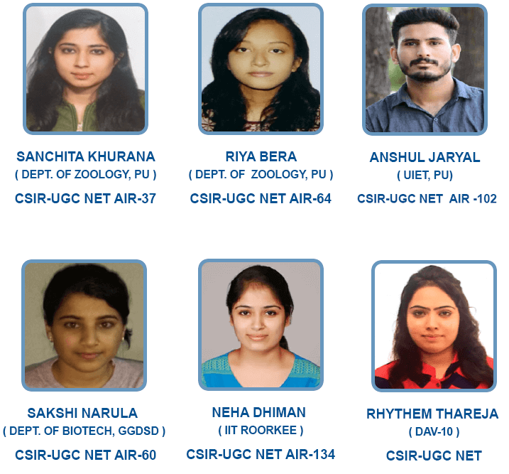 Students who performed well in these EXAM
